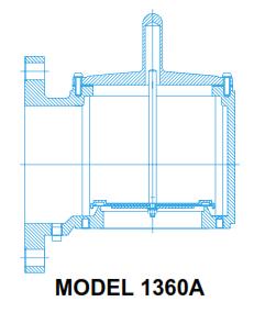 1360A - Vacuum Relief Valve, Side Mount