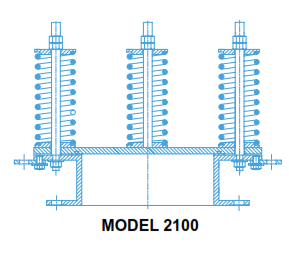 2100 - Emergency Pressure Relief Valve, Spring-Loaded