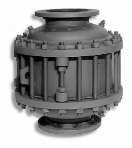 Detonation Flame Arrester inhibits Ÿame propagation in gas piping systems