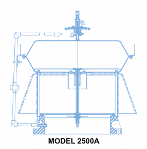 2500A Pilot-Operated Emergency Pressure Relief Valve is designed to provide emergency relief capacity beyond that furnished by the normal operating pressure relief valve on the tank