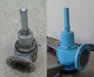 Breather Valve Vent servicing before and after