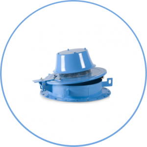 Emergency Pressure Relief Valve 2400a-Weight Loaded-Hinged