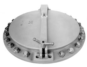 This product is used when quick and easy access is desired. It is generally placed on digester covers or roofs.