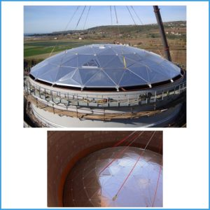 Geodesic Domes supply & installation