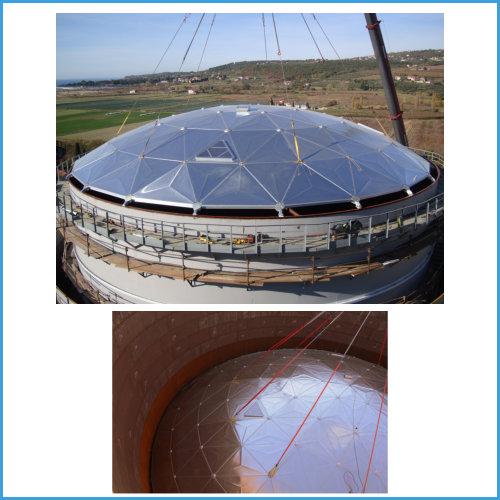 Geodesic Domes supply & installation