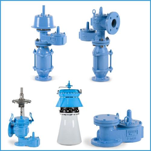 Tank Venting-Pressure Vacuum relief valves