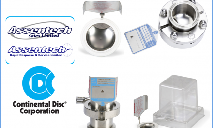 Bursting discs designed for the Pharmaceutical & Food industries