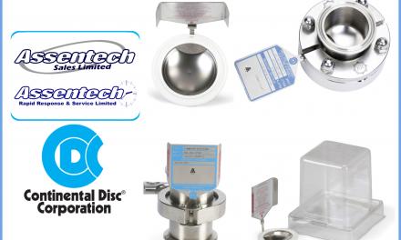 Bursting discs designed for the Pharmaceutical & Food industries