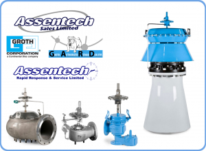 Pilot Operated pressure or vacuume Relief Valves