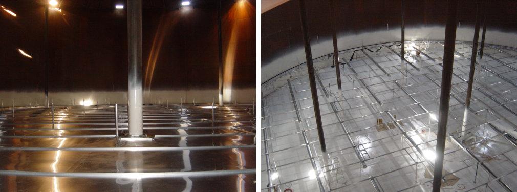 Storage Tanks Emission Control Internal Floating Roofs