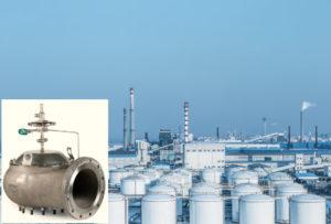 Pressure vacuum relief valves pilot operated