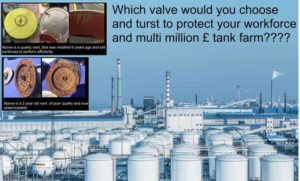 Which valve would you choose and trust to protect our environment, your workforce and your assets?